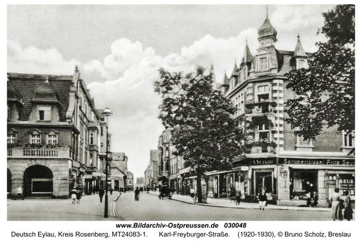 Deutsch Eylau, Karl-Freyburger-Straße