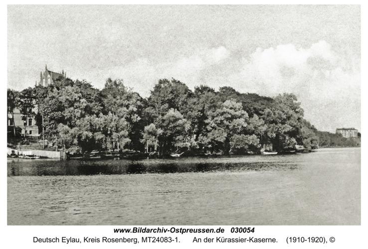 Deutsch Eylau, An der Kürassier-Kaserne