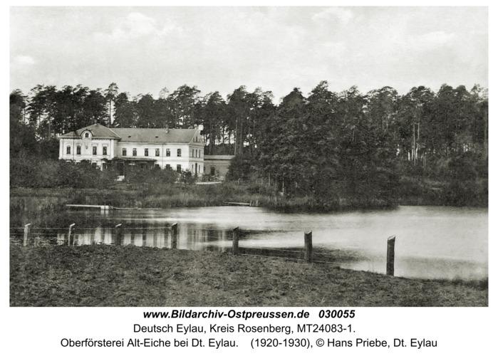 Deutsch Eylau, Oberförsterei Alt-Eiche bei Dt. Eylau