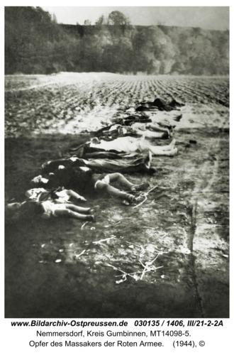 Nemmersdorf, Opfer des Massakers der Roten Armee