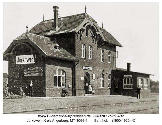 Jorkowen, Bahnhof