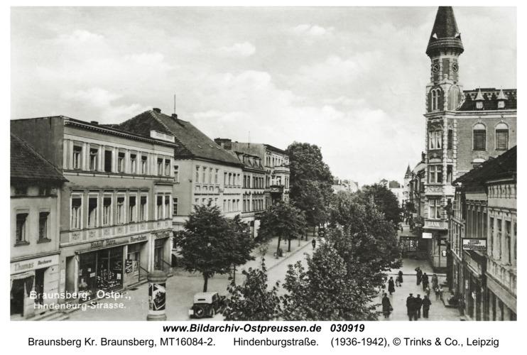 Braunsberg, Hindenburgstraße