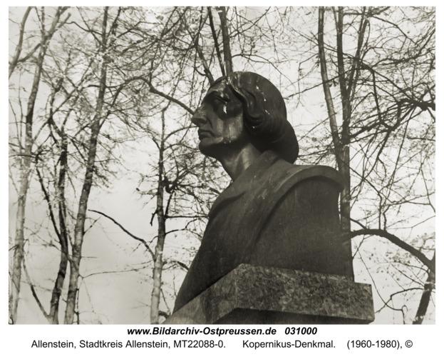 Allenstein, Kopernikus-Denkmal