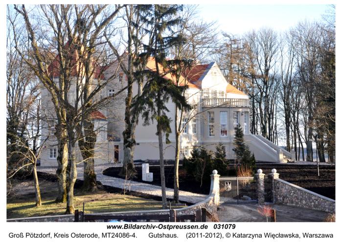 Groß Pötzdorf, Gutshaus