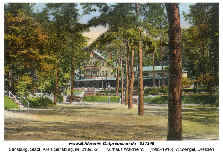 Sensburg, Kurhaus Waldheim