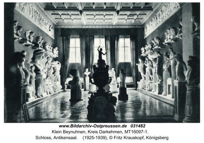 Klein Beynuhnen, Schloss, Antikensaal