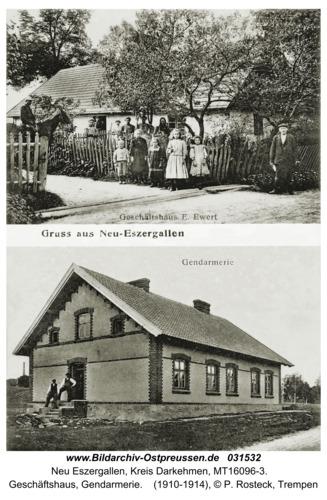 Neu Eszergallen, Geschäftshaus, Gendarmerie