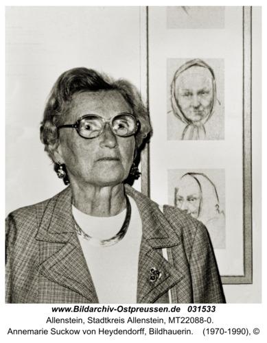 Allenstein, Annemarie Suckow von Heydendorff, Bildhauerin