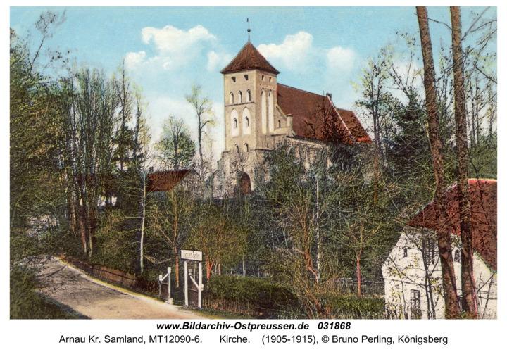 Arnau Kr. Samland, Kirche
