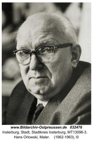 Insterburg, Hans Orlowski, Maler