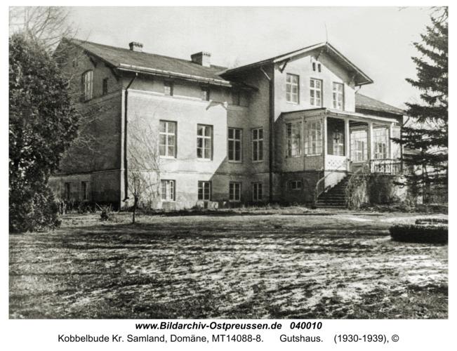Kobbelbude Kr. Samland, Domäne, Gutshaus