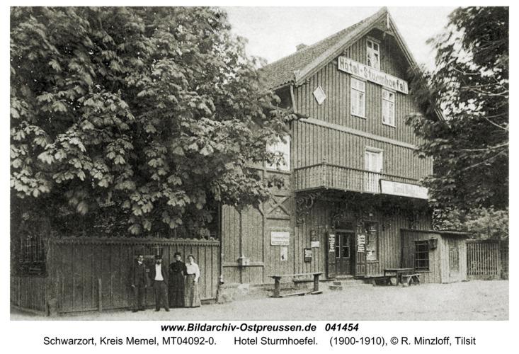 Schwarzort, Hotel Sturmhoefel