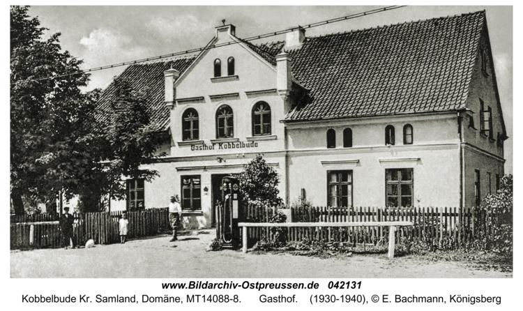 Kobbelbude Kr. Samland, Domäne, Gasthof