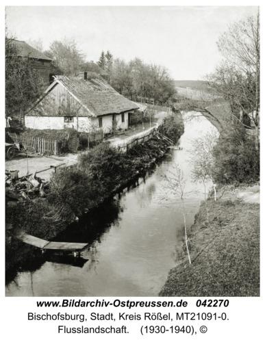 Bischofsburg - Ridbach, Flusslandschaft