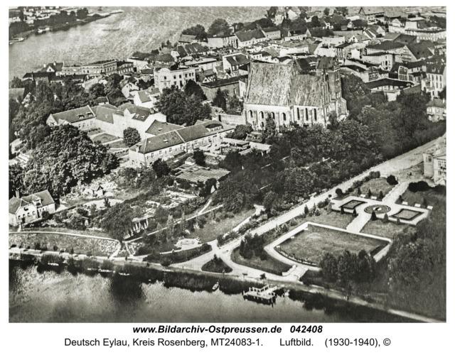 Deutsch Eylau, Luftbild