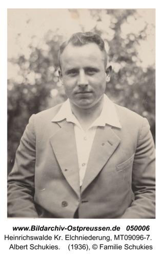 Heinrichswalde, Albert Schukies
