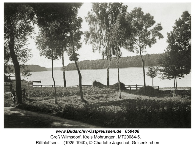 Groß Wilmsdorf, Röthloffsee