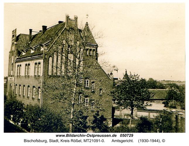 Bischofsburg, Amtsgericht