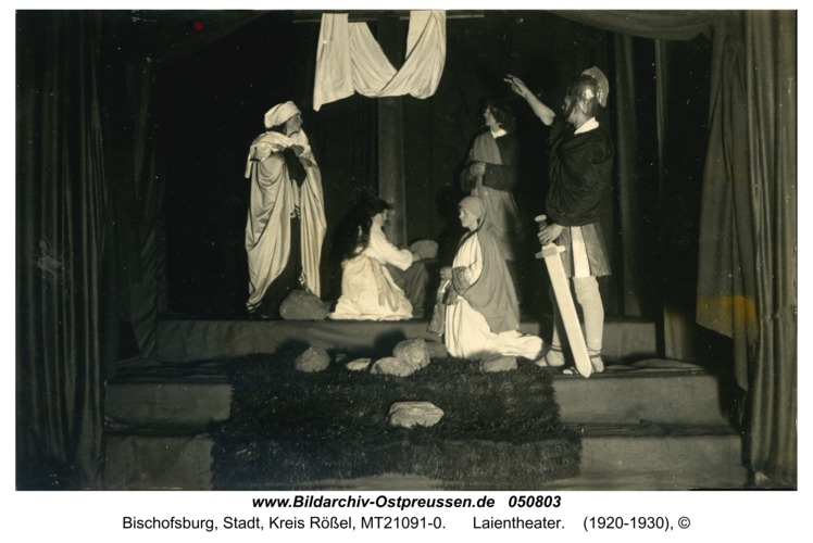 Bischofsburg, Laientheater