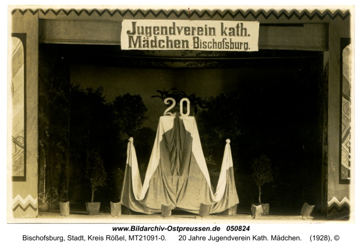 Bischofsburg, 20 Jahre Jugendverein Kath. Mädchen