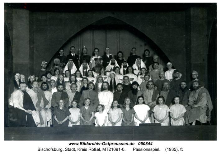 Bischofsburg, Passionsspiel
