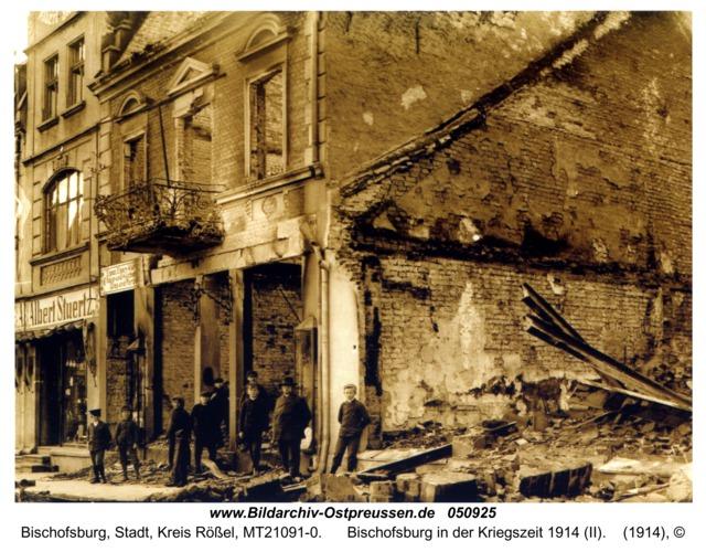 Bischofsburg in der Kriegszeit 1914 (II)