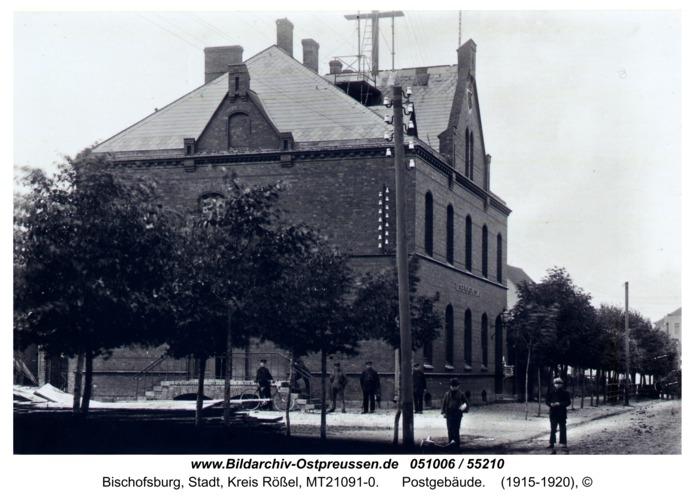 Bischofsburg, Postgebäude