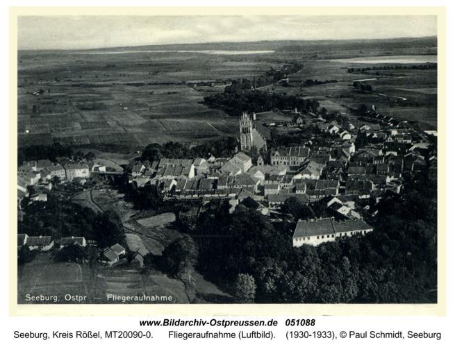 Seeburg, Fliegeraufnahme (Luftbild)