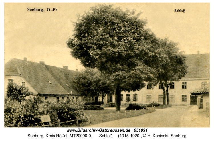 Seeburg, Schloß