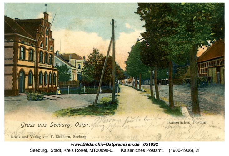 Seeburg, Kaiserliches Postamt