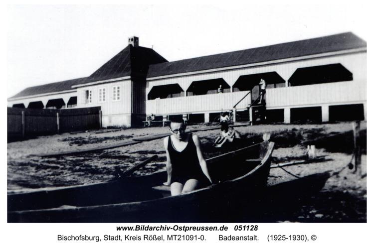 Bischofsburg, Badeanstalt