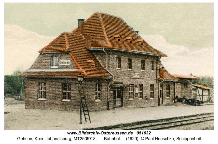 Gehsen, Bahnhof