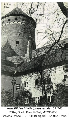 Rößel, Schloss Rössel