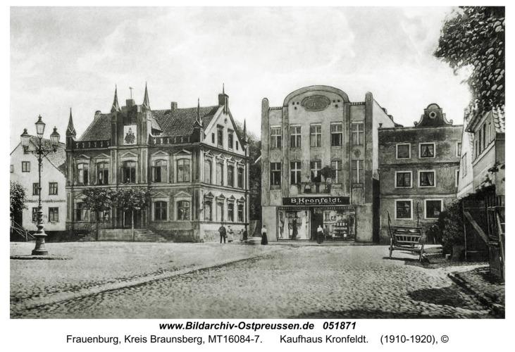 Frauenburg, Kaufhaus Kronfeldt