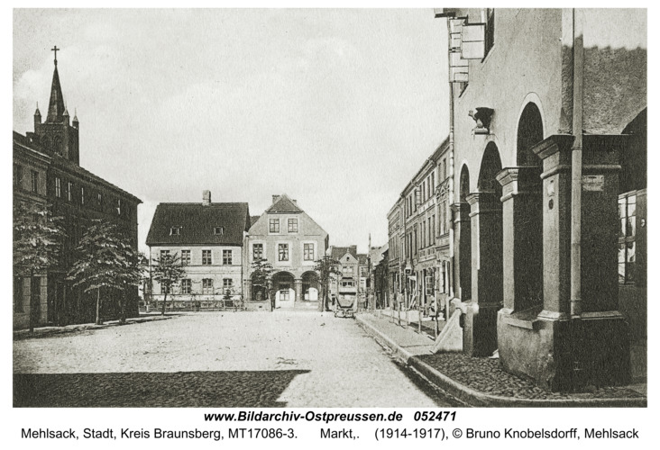 Mehlsack, Markt,
