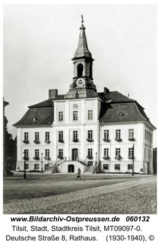 Tilsit, Deutsche Straße 8, Rathaus
