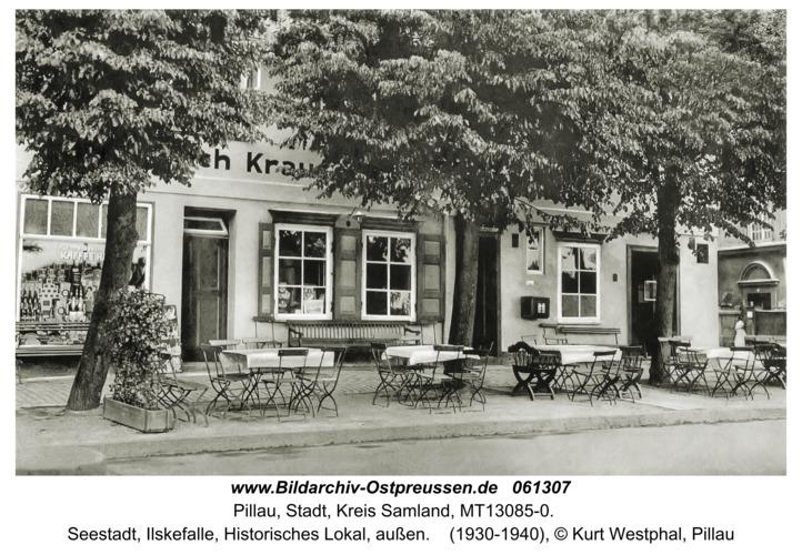 Pillau, Seestadt, Ilskefalle, Historisches Lokal, außen
