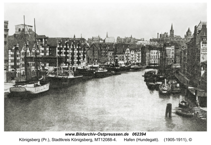 Königsberg (Pr.), Hafen (Hundegatt)