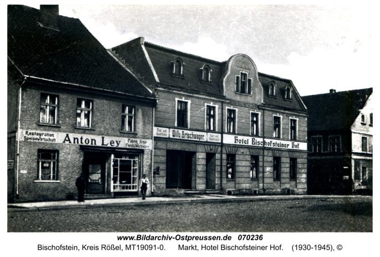 Bischofstein, Markt, Hotel Bischofsteiner Hof