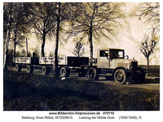 Seeburg, Lastzug der Mühle Dost
