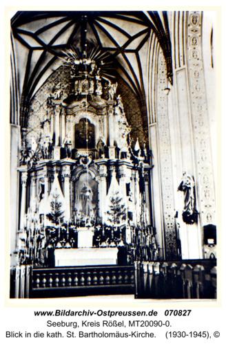 Seeburg, Blick in die kath. St. Bartholomäus-Kirche