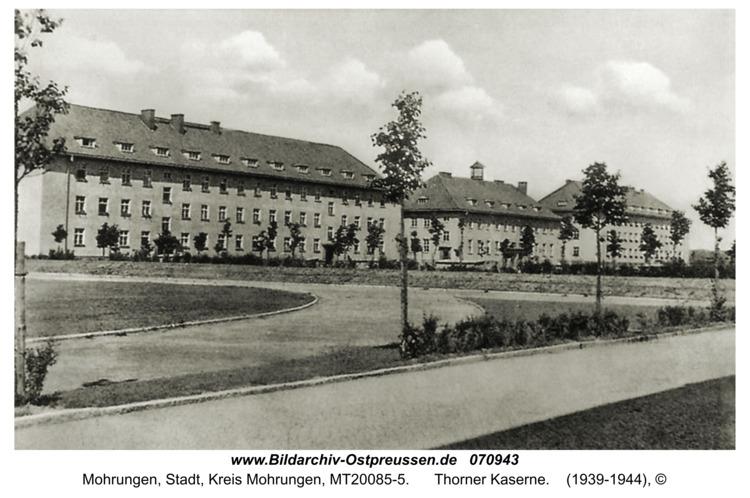 Mohrungen, Thorner Kaserne