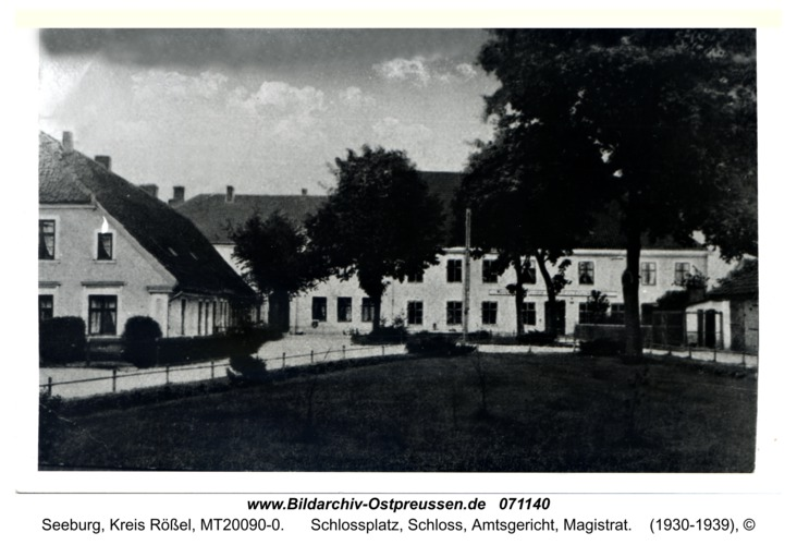 Seeburg, Schlossplatz, Schloss, Amtsgericht, Magistrat