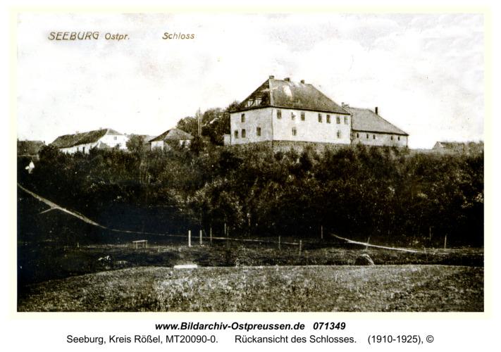 Seeburg, Rückansicht des Schlosses