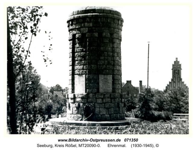 Seeburg, Ehrenmal