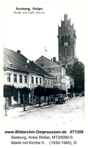 Seeburg, Markt mit Kirche II