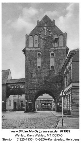 Wehlau, Steintor