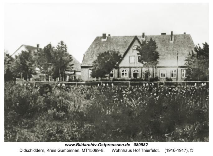 Didschiddern, Wohnhaus Hof Thierfeldt