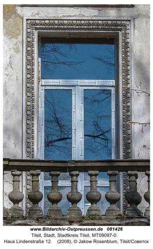 Tilsit (Советск), Haus Lindenstraße 12
