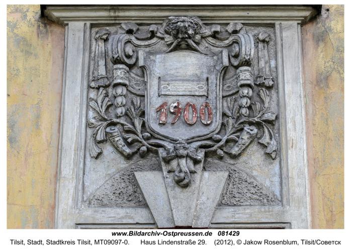 Tilsit (Советск), Haus Lindenstraße 29